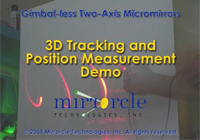 Video: 3D Tracking and Position Measurement Demo