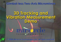 Video: 3D Tracking and Vibration Measurement Demo