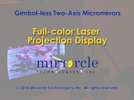 Video: MTI RGB Laser Projection Display I