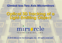 Video: MTI Optical 3D Tracking of a Light-Emitting Object