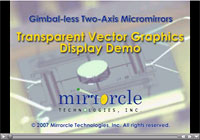 Video: MTI Transparent Vector Graphics Display Demo